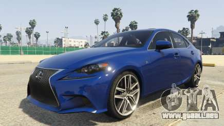Lexus IS350 F-Sport 2014 para GTA 5