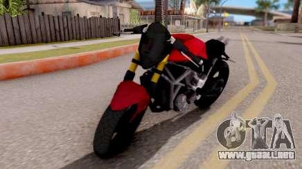 Kawasaki Ninja 250 Freestyle para GTA San Andreas