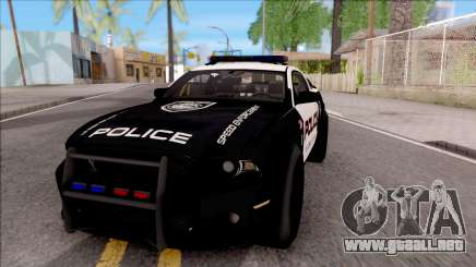 Ford Mustang GT High Speed Police para GTA San Andreas