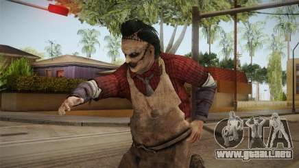 Leatherface Butcher para GTA San Andreas