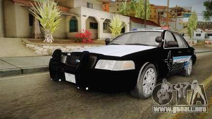 Ford Crown Victoria 2009 Airport Police para GTA San Andreas