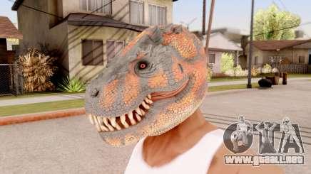 La Máscara De Dinosaurio para GTA San Andreas