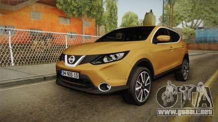 Nissan Qashqai 2016 HQLM para GTA San Andreas