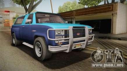 GTA 5 Vapid Bobcat S IVF para GTA San Andreas
