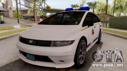 Dinka Perennial MPV Hometown PD 2010 para GTA San Andreas