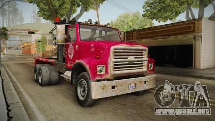 GTA 5 Vapid Towtruck Large Worn para GTA San Andreas