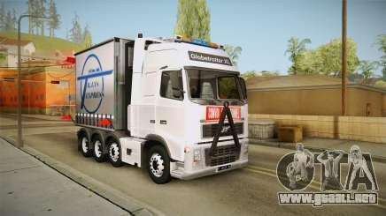 Volvo FH16 660 8x4 Convoy Heavy Weight para GTA San Andreas