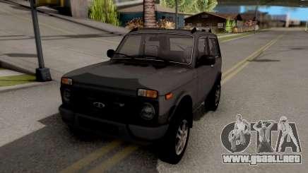 Lada Niva Urban V2 Stock para GTA San Andreas