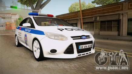 Ford Focus 1.6 Turkish Police para GTA San Andreas