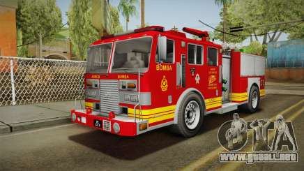 GTA 5 Firetruck Malaysia para GTA San Andreas