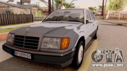 Mercedes Benz W124 para GTA San Andreas