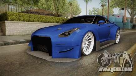 Nissan GT-R R35 NFSUC Tuning para GTA San Andreas