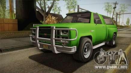 GTA 5 Vapid Bobcat S para GTA San Andreas