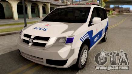 Dodge Grand Caravan Turkish Police para GTA San Andreas