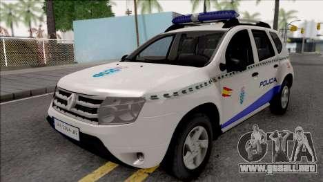 Renault Duster Spanish Police para GTA San Andreas