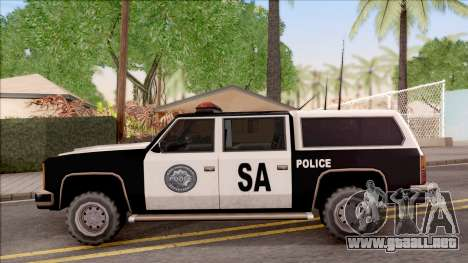 Police Rancher 4 Doors para GTA San Andreas left