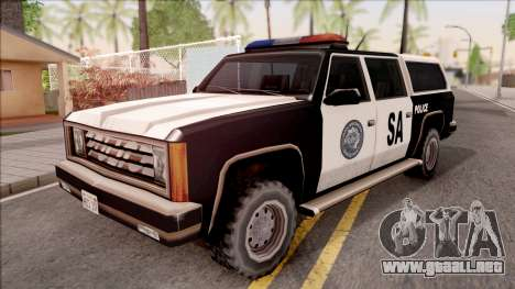 Police Rancher 4 Doors para GTA San Andreas