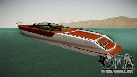 GTA 5 Speeder para GTA San Andreas left