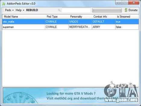 GTA 5 AddonPeds 3.0 quinta captura de pantalla