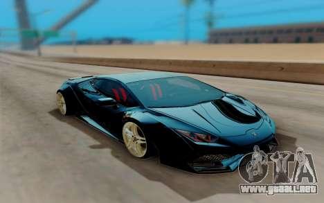Lamborghini Huracan Custom para GTA San Andreas