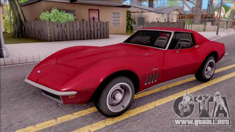 Chevrolet Corvette C3 Stingray para GTA San Andreas
