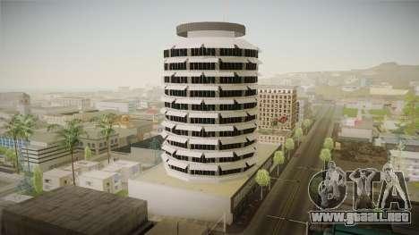 LS_Capitol Registros Edificio v2 para GTA San Andreas segunda pantalla