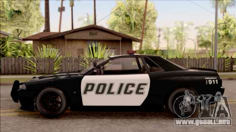 GTA V Annis Elegy Retro Interceptor IVF para GTA San Andreas left