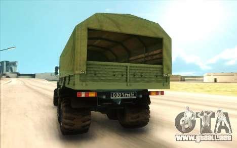 Ural SIGUIENTE Militar para la visión correcta GTA San Andreas