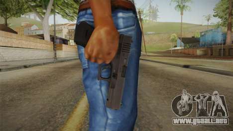 Glock 17 3 Dot Sight para GTA San Andreas tercera pantalla