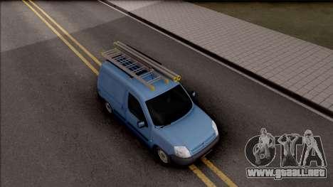 Citroen Berlingo Mk2 Van para la visión correcta GTA San Andreas