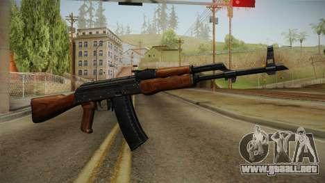 AKM Assault Rifle v2 para GTA San Andreas segunda pantalla