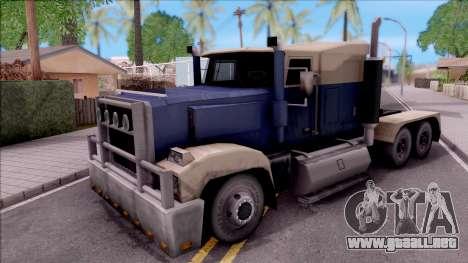 Custom Roadtrain para GTA San Andreas
