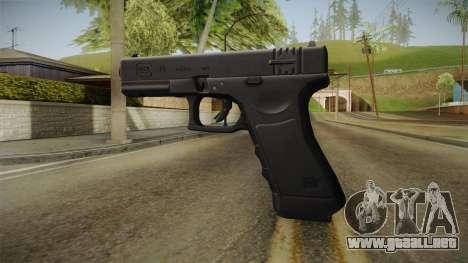 Glock 18 para GTA San Andreas segunda pantalla