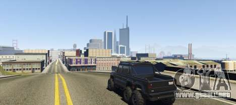 GTA 5 San Fierro DLC BETA 1.1 tercera captura de pantalla
