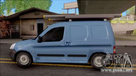 Citroen Berlingo Mk2 Van para GTA San Andreas left