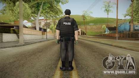 New SWAT Skin para GTA San Andreas