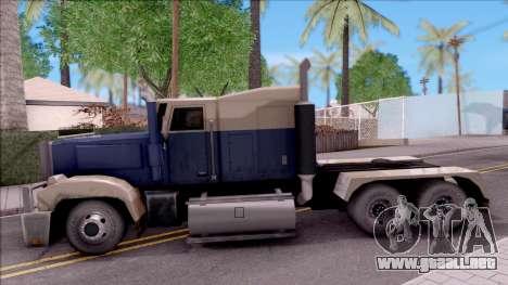 Custom Roadtrain para GTA San Andreas left