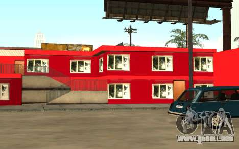 Nuevas texturas del hotel Incluyen para GTA San Andreas tercera pantalla
