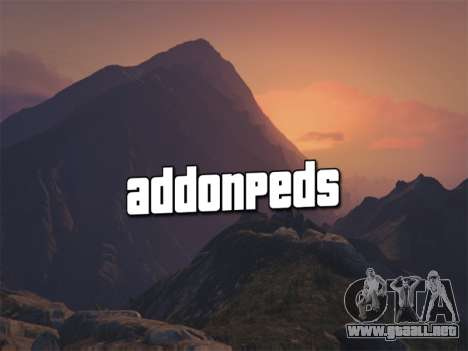 GTA 5 AddonPeds 3.0