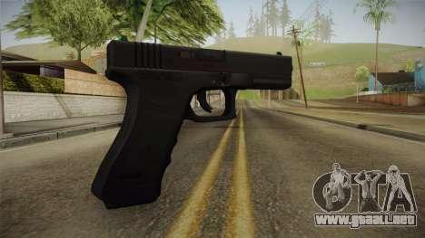 Glock 17 3 Dot Sight para GTA San Andreas segunda pantalla