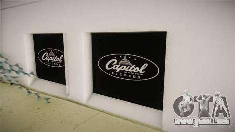 LS_Capitol Registros Edificio v2 para GTA San Andreas quinta pantalla