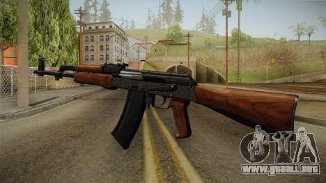 AKM Assault Rifle v2 para GTA San Andreas tercera pantalla
