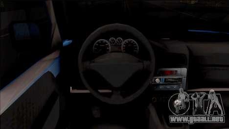 Citroen Berlingo Mk2 Van para visión interna GTA San Andreas