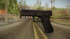 Glock 18 3 Dot Sight Ultraviolet Indigo para GTA San Andreas