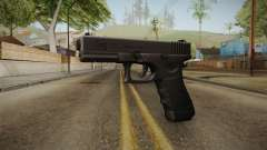 Glock 17 3 Dot Sight Pink Magenta para GTA San Andreas