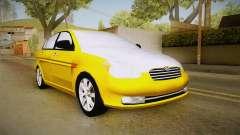 Hyundai Accent 2011 para GTA San Andreas
