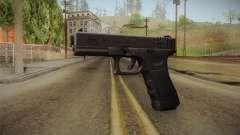Glock 18 Blank Sight para GTA San Andreas