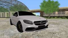 Mercedes-Benz C63 Coupe para GTA San Andreas