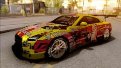 Nissan GT-R R35 Itasha COG LW Performance para GTA San Andreas