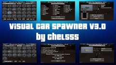 Visual Car Spawner v3.0 para GTA San Andreas